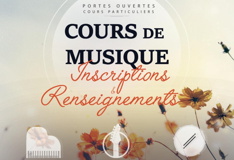 Porte ouverte et inscriptions - Cours de piano guitare à Saint-Lô